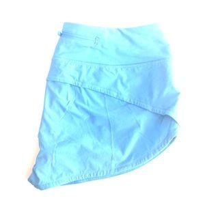 LULULEMON Speed Up Shorts Size 6 sky blue